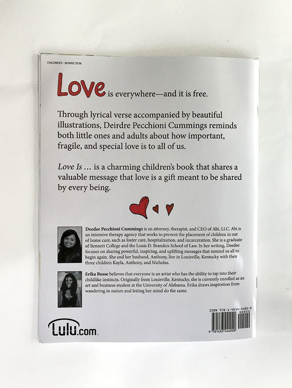 Love Is Back Cover