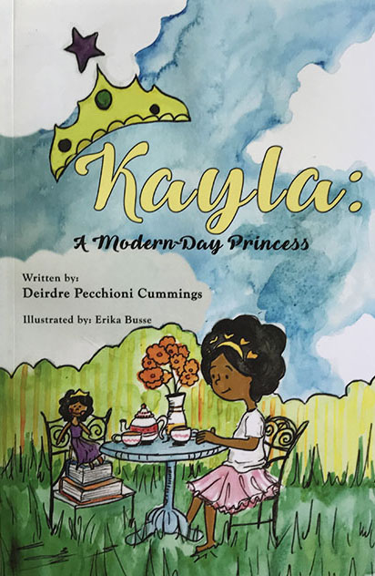 Kayla - A Modern Day Princess by Deedee Cummings - Book Cover Art